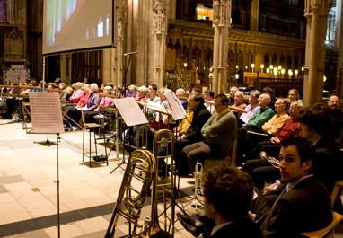 Massed-choir
