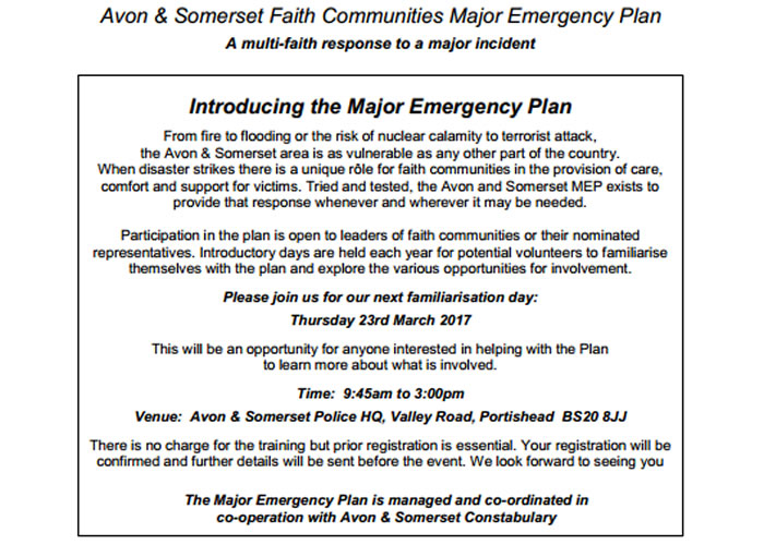 emergency plan 17