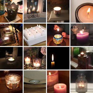 candles Walton Parish