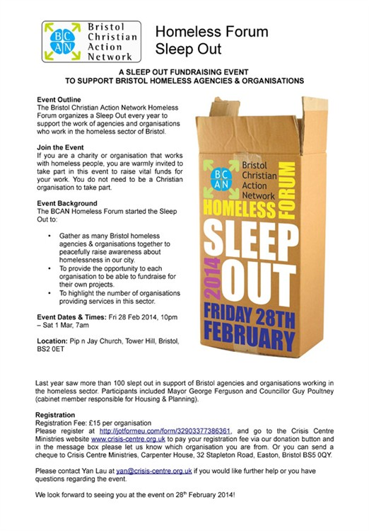 Sleep-out-Event-Outline