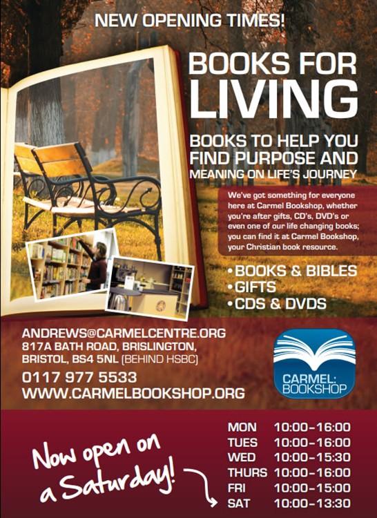 Bristol networks : Advert - Carmel Bookshop
