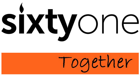 sixtyone logo